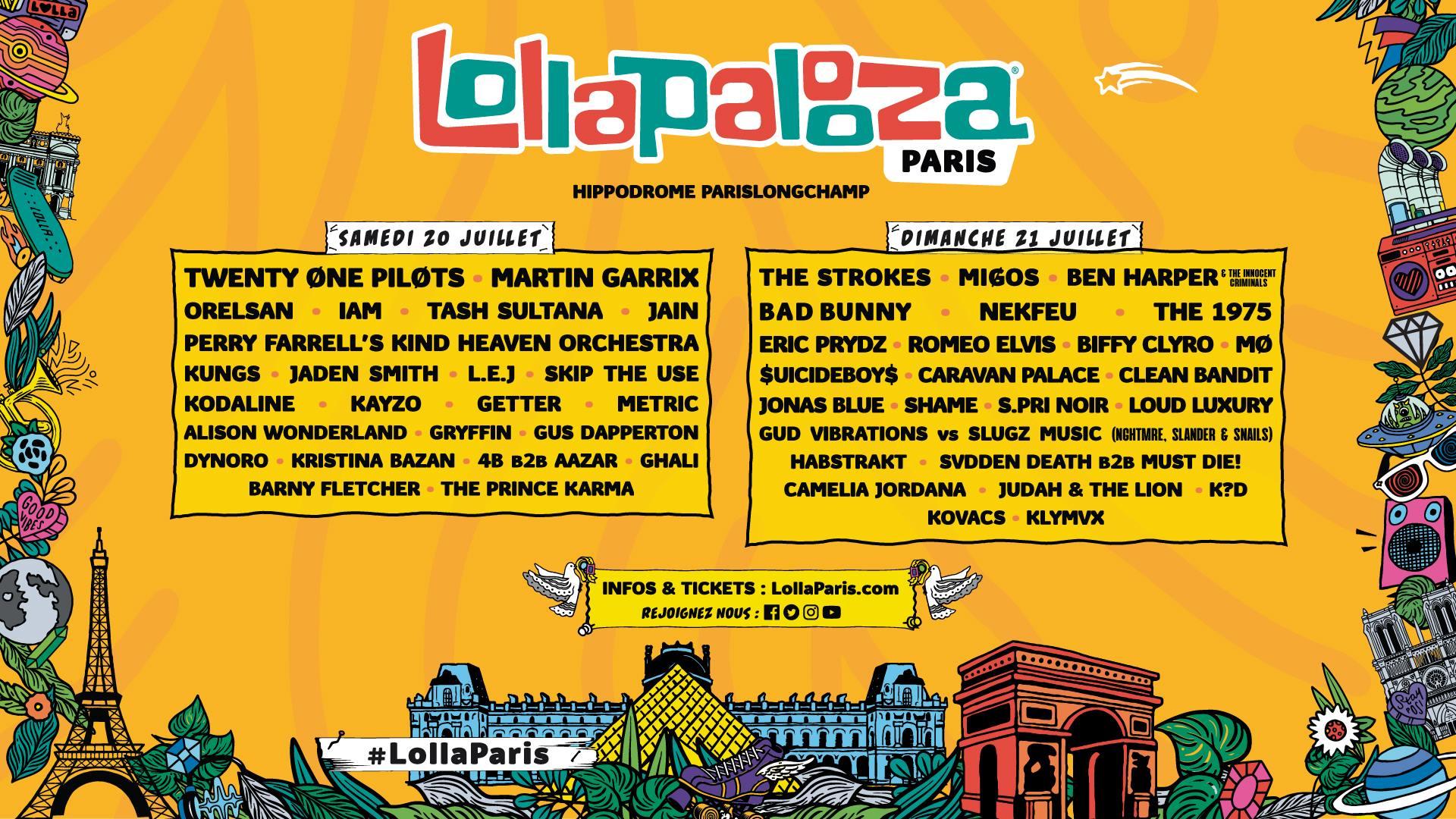 lollapalooza festival édition 2019