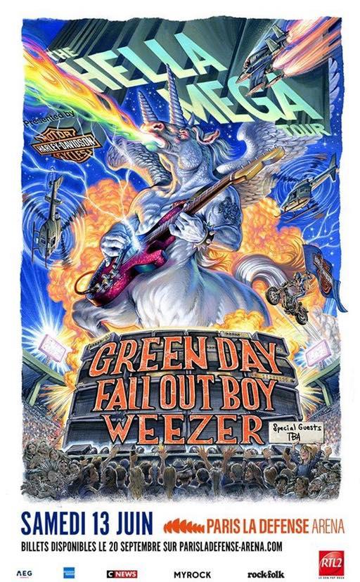 hella mega tour green day fall out boy weezer