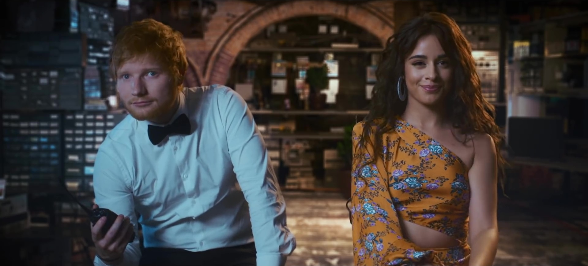 ed sheeran camila cabello cardi b south of the border clip