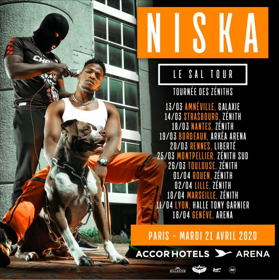niska tournée le sal tour 2020
