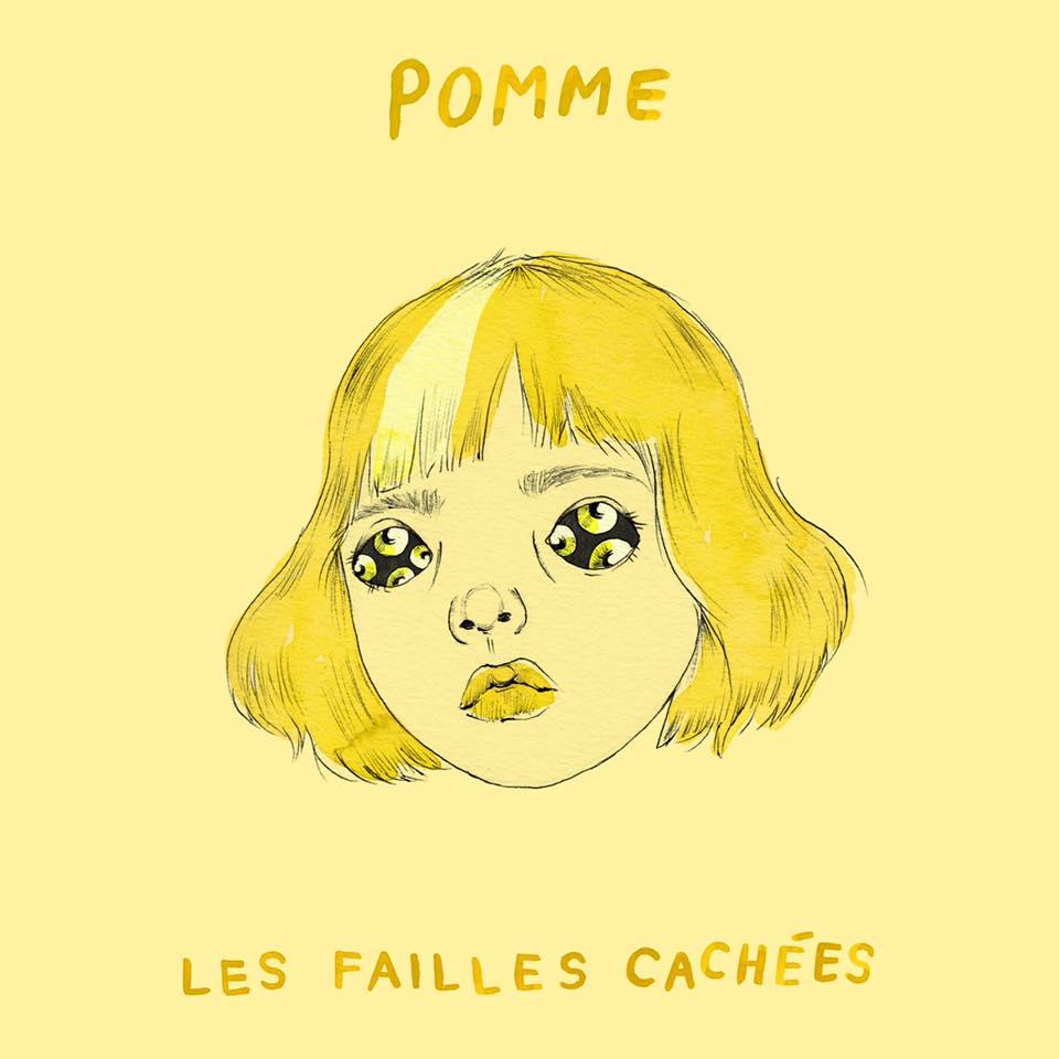 pomme artwork album réédition les failles cachées