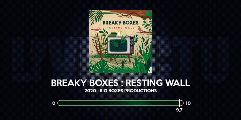 breaky boxes resting wall chronique review