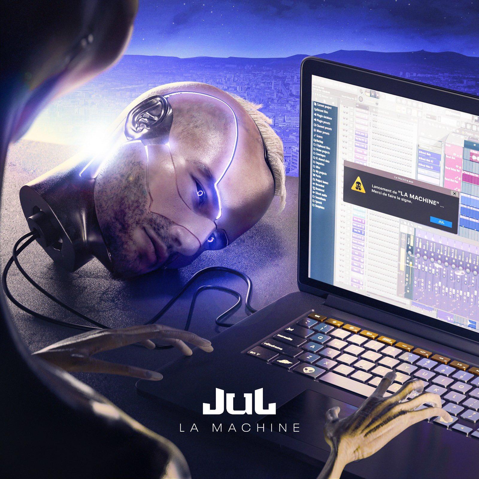 jul la machine artwork album