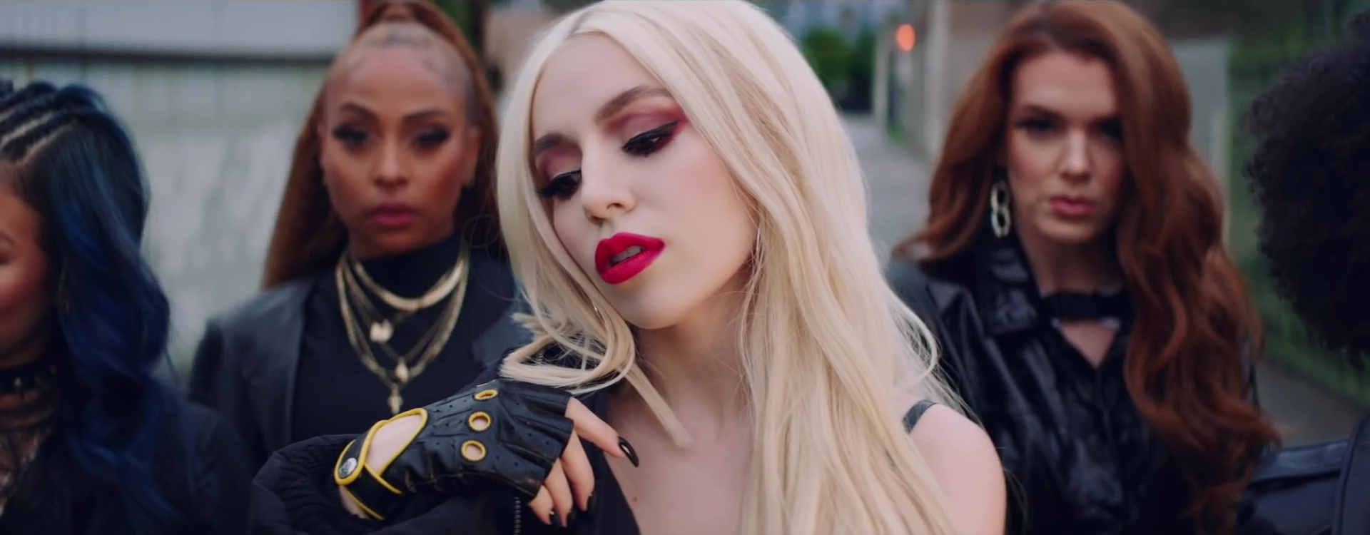 ava max clip who's laughing now heaven & hell