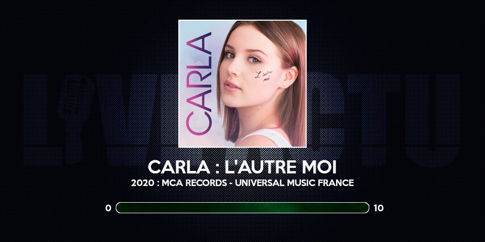 carla review chronique album l'autre moi note rating