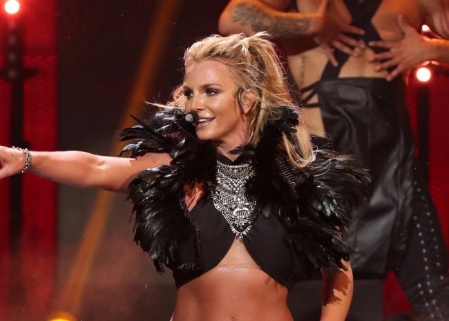 britney spears carriere scene live