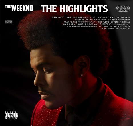 the weeknd artwork greatest hits the highlights