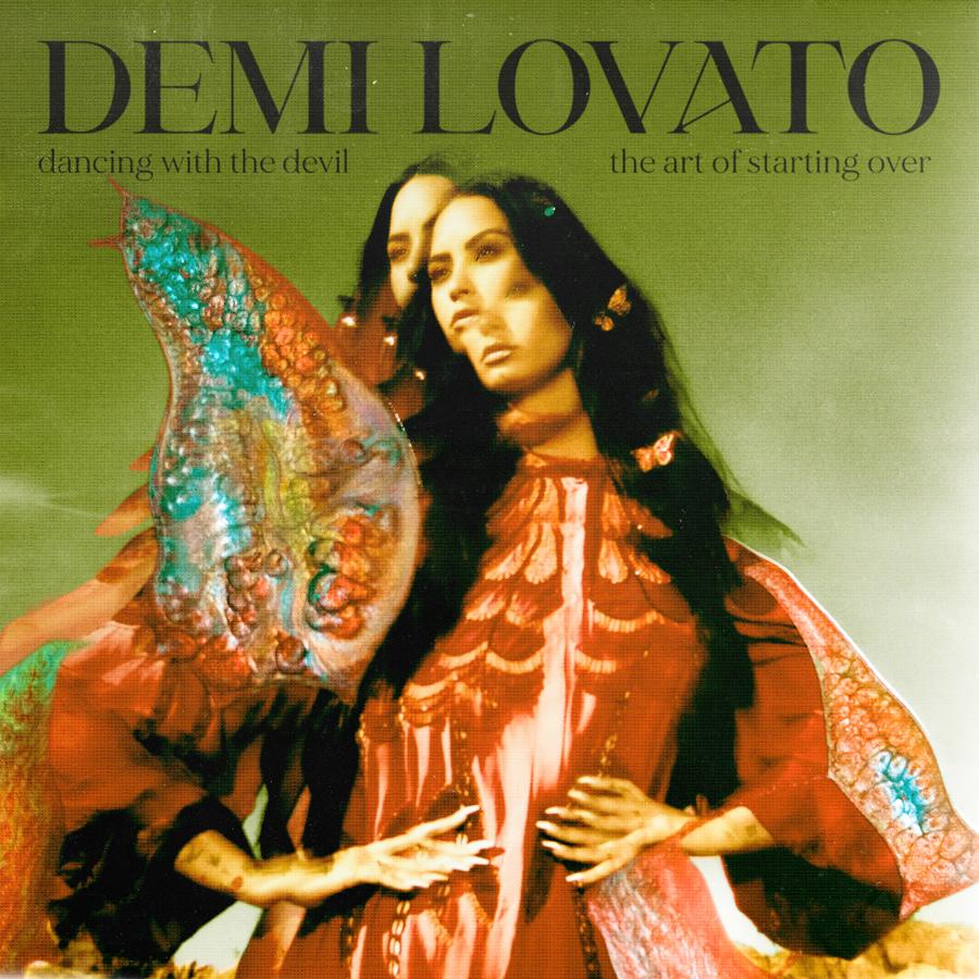 demi lovato artwork album dancing with the devil the art of starting over