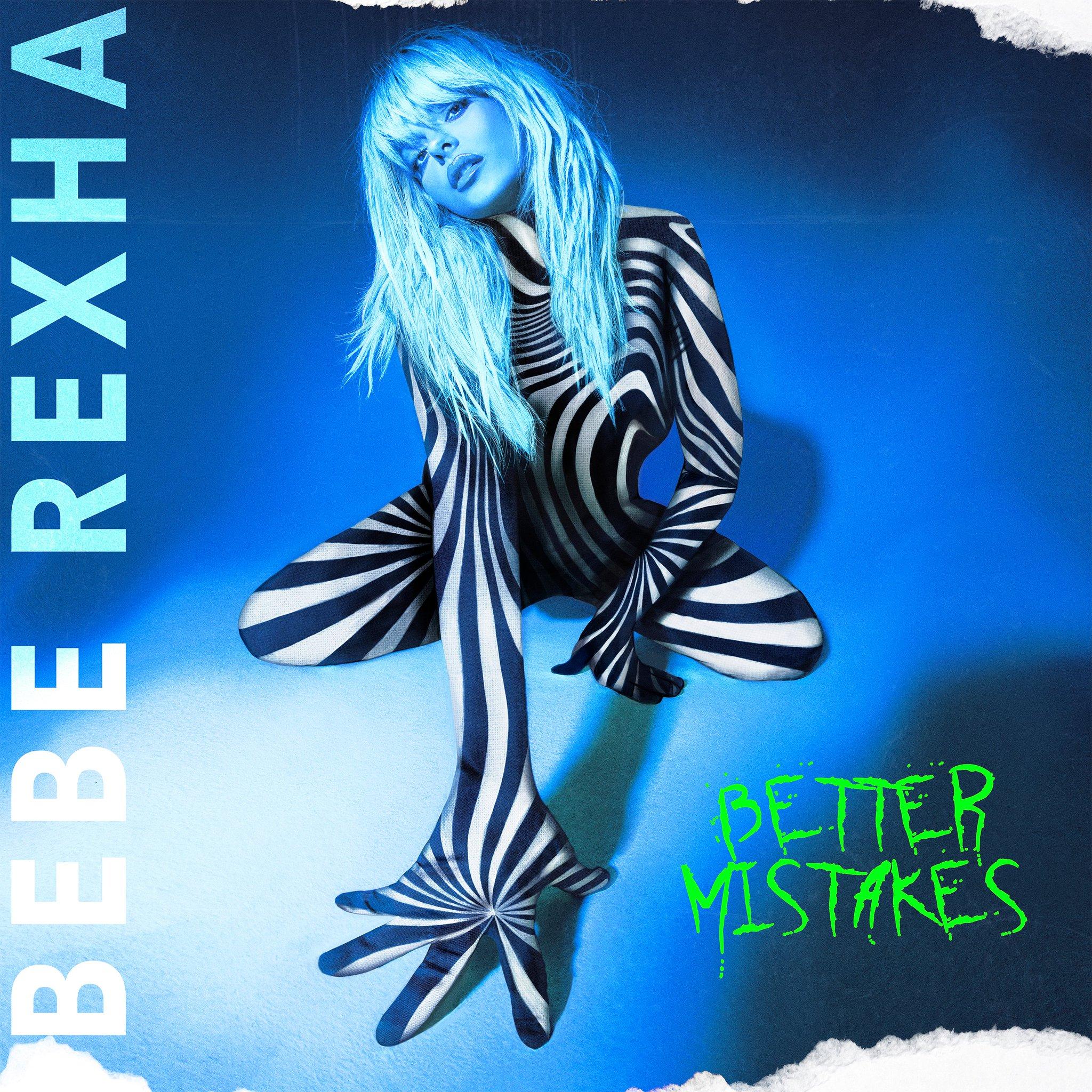 bebe rexha artwork album better mistakes