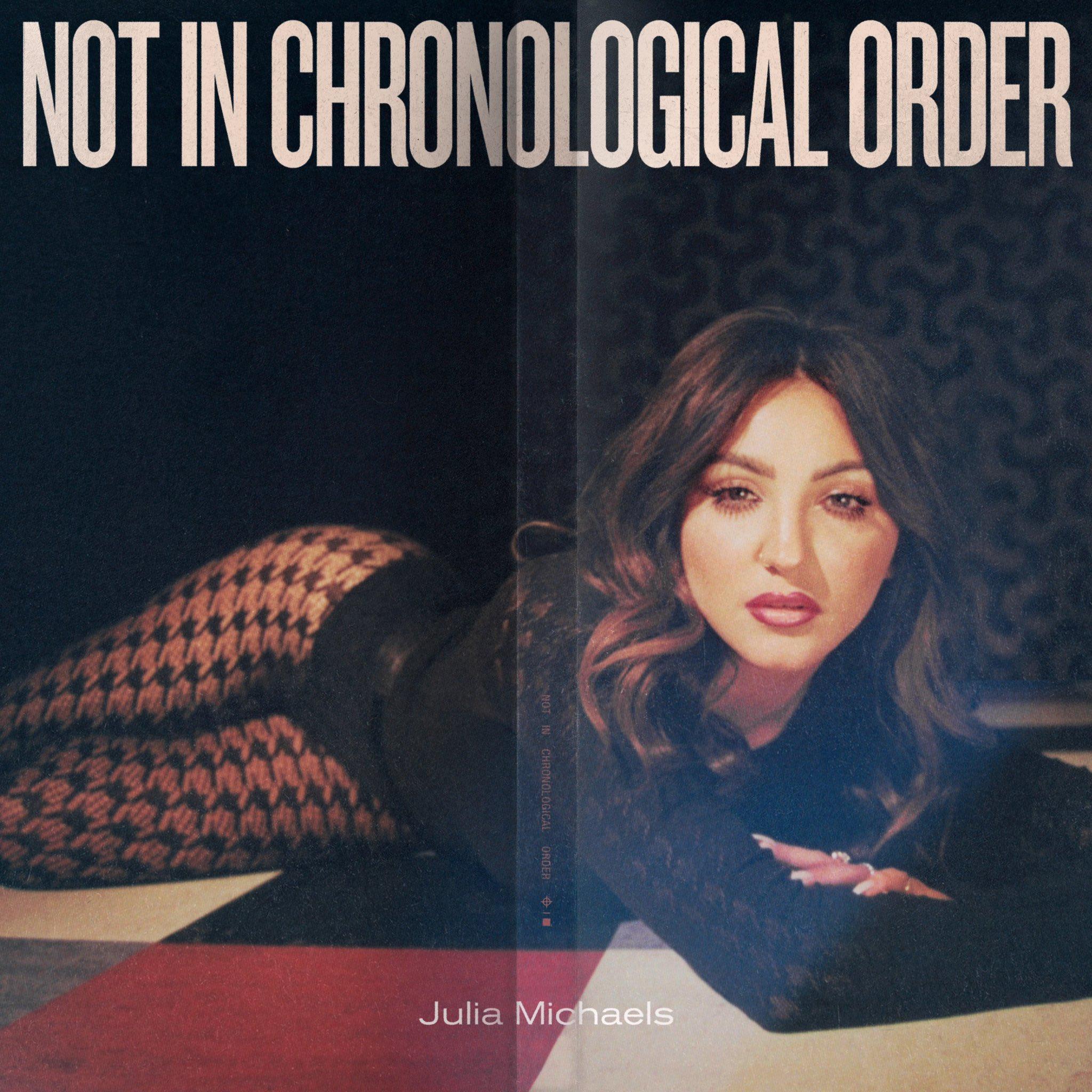 julia michaels artwork album not in chronological order