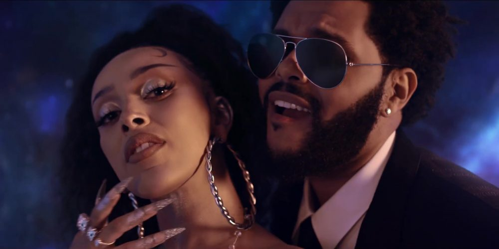 doja cat the weeknd clip you right release album planet her