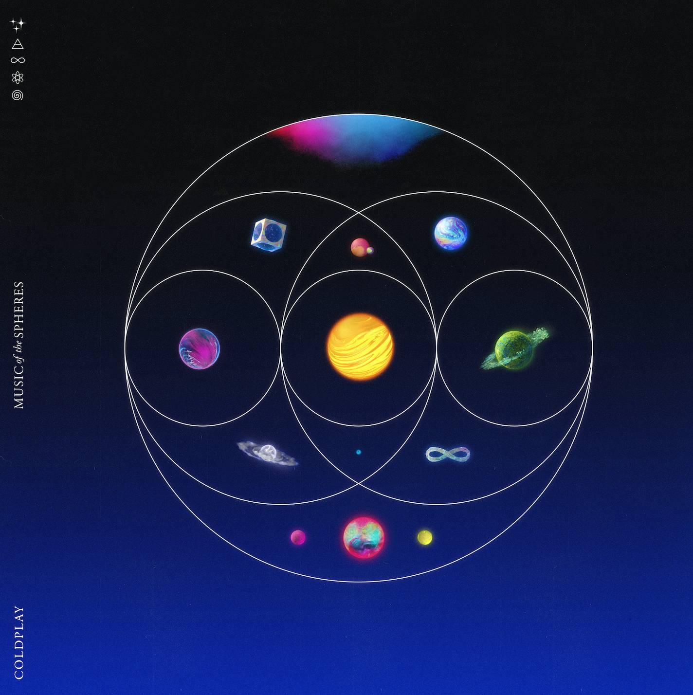 coldplay artwork album music of the spheres