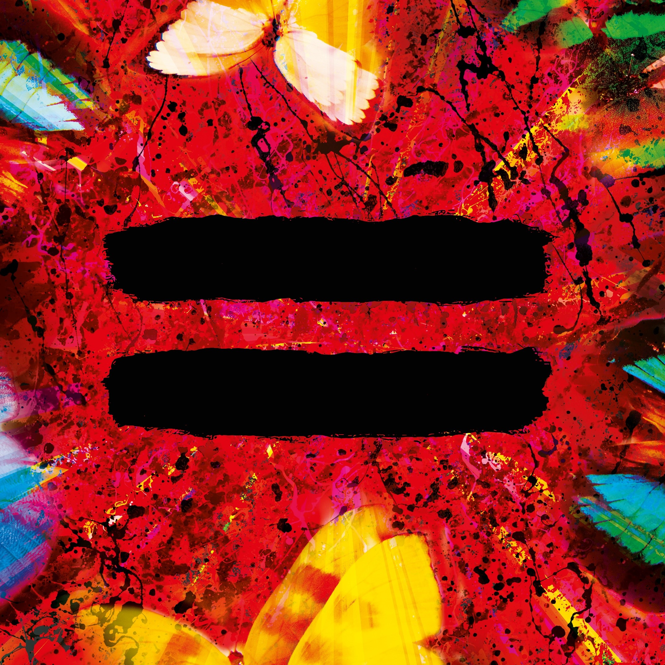 ed sheeran artwork album = equals