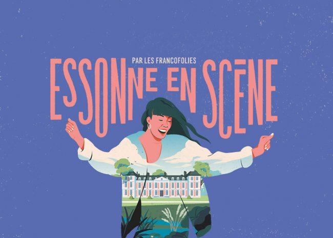 essonne en scène festival affiche chamarande paris septembre 2021