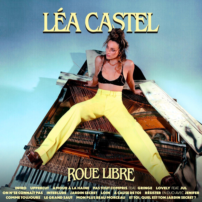 léa castel artwork album roue libre