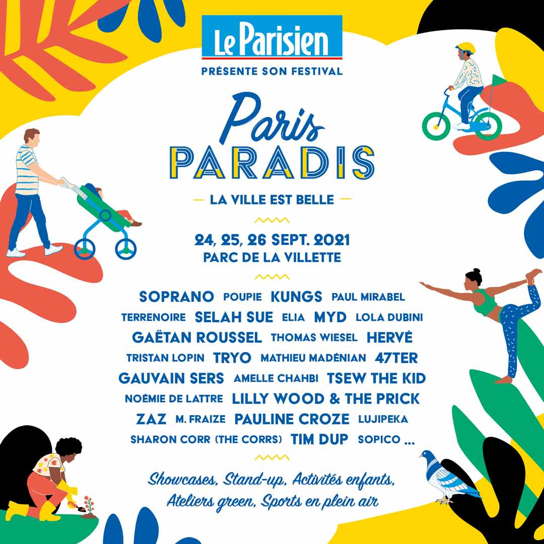 paris paradis festival le parisien affiche