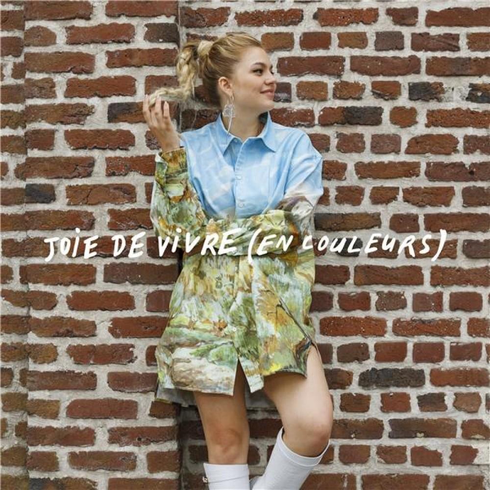 louane artwork album joie de vivre en couleurs